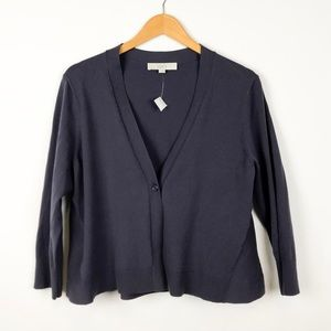 LOFT Purple Cardigan
